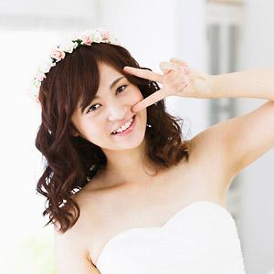 楽しそうな花嫁